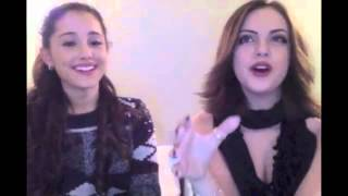 Liz Gillies & Ariana Grande The Question Game YouTube Videos