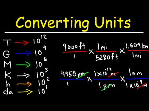Download Converting Units With Conversion Factors - Metric System Review & Dimensional Analysis