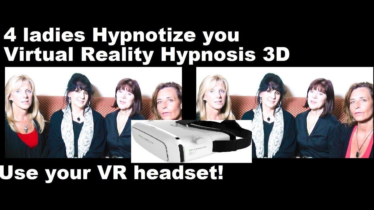 Virtual Reality Hypnosis: 4 Ladies Hypnotize you to sleep ...