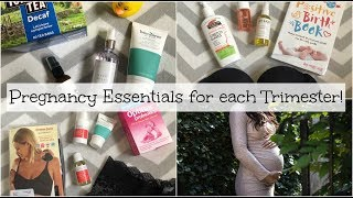 My Pregnancy Essentials for Trimesters 1, 2 and 3   Mummy Nutrition