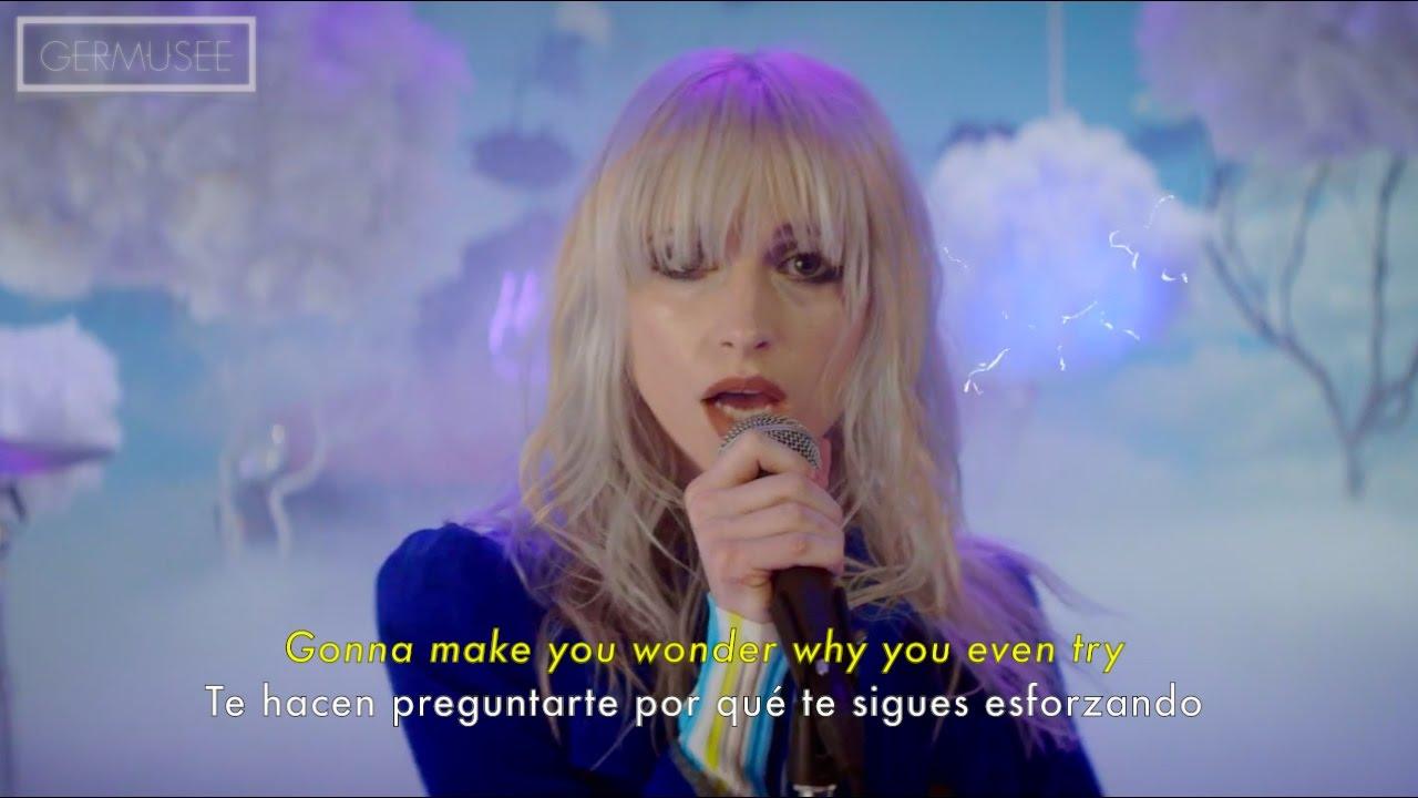 Paramore - Hard Times (Subtitulada en Español/Lyrics ... Paramore Lyrics