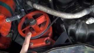 ランドクルーザー 自作排気ブレーキ エアーシリンダー制御式