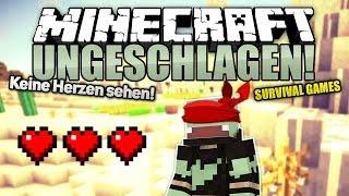 Keine Herzen sehen! - Minecraft UNGESCHLAGEN #22 - Survival Games | ungespielt