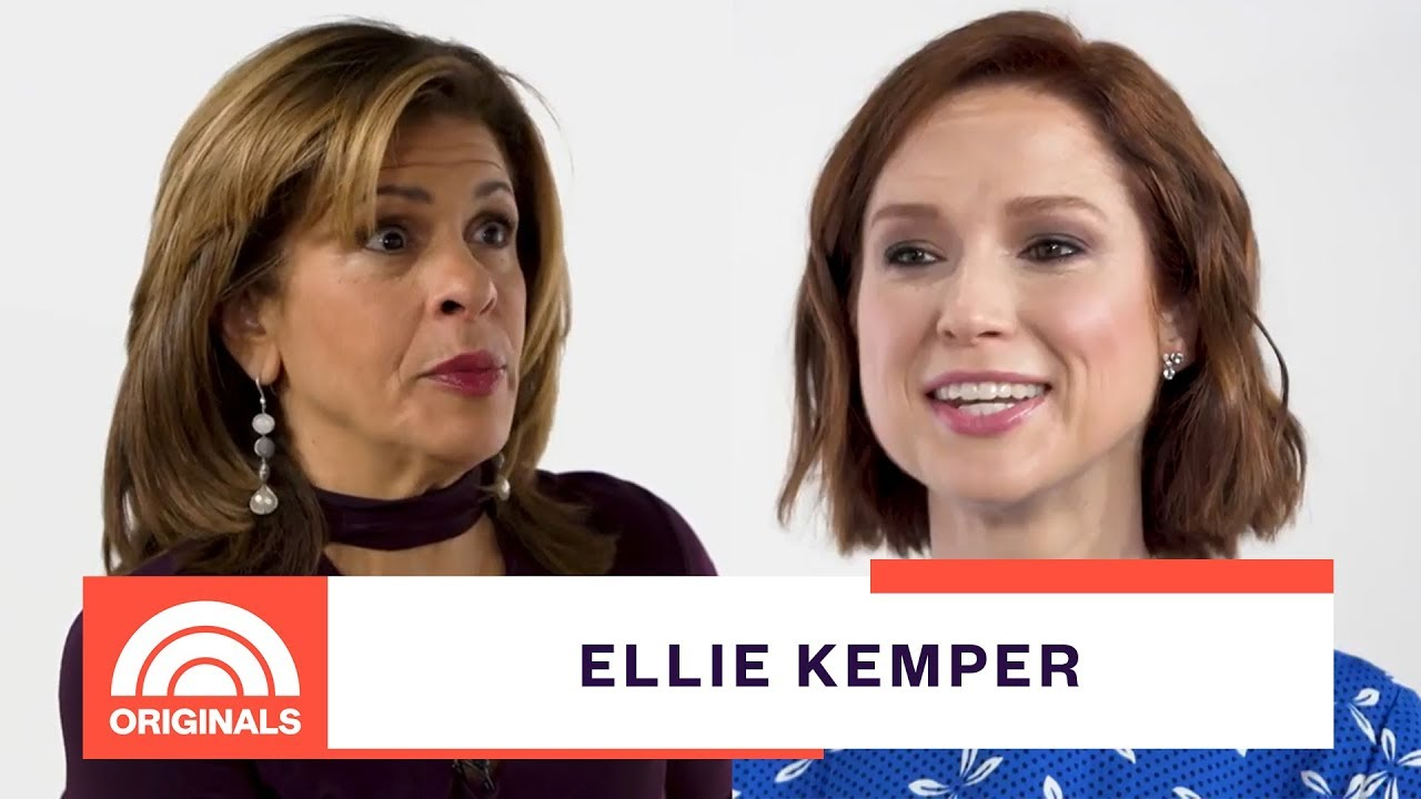 Ellie Kemper And Kimmy Schmidt Share A Similar Look At Life | Quoted By With Hoda | TODAY Originals
