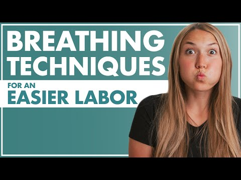 BREATHING Techniques For An EASIER LABOR | How To Breathe During Labor | Birth Doula | Lamaze