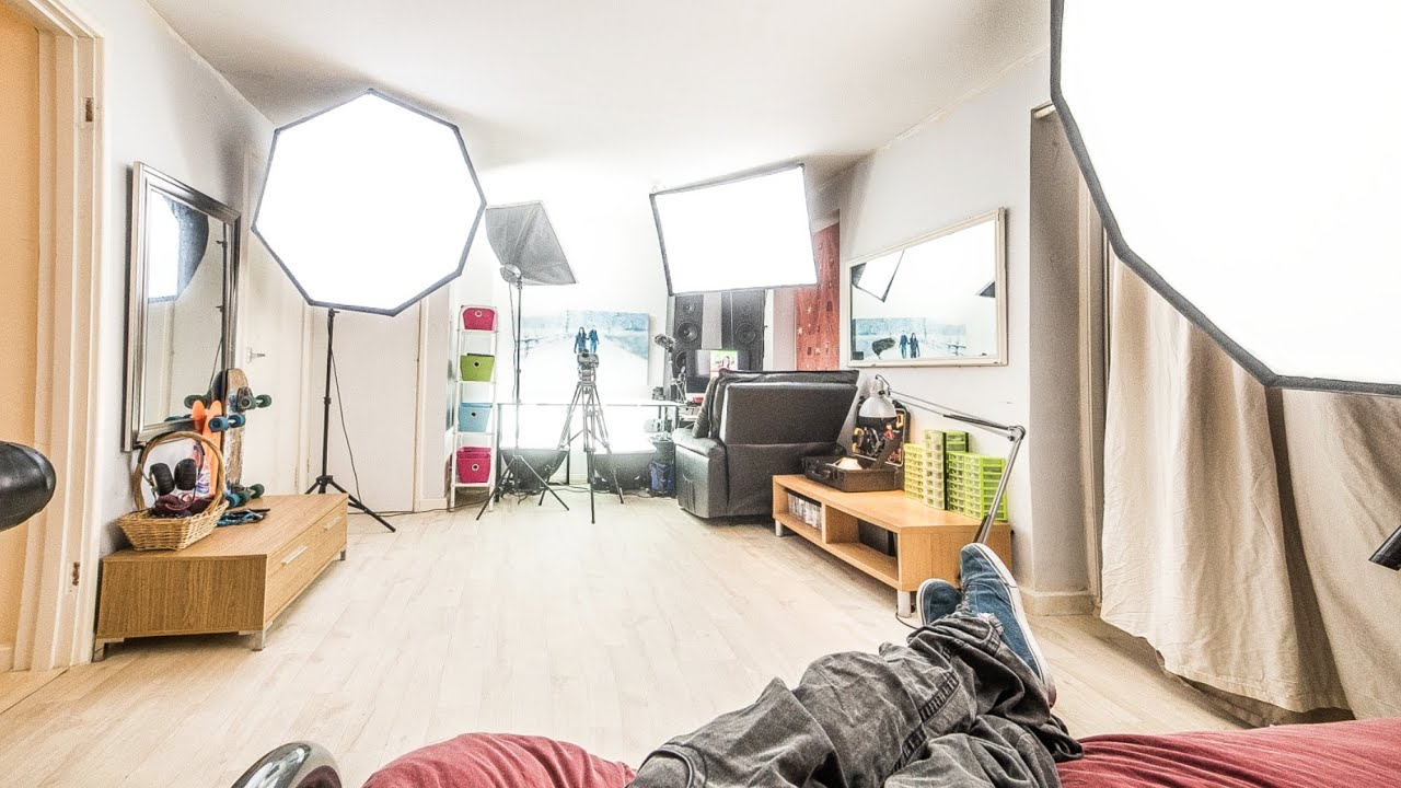Working in a small photo/video studio - Episode 1 ...