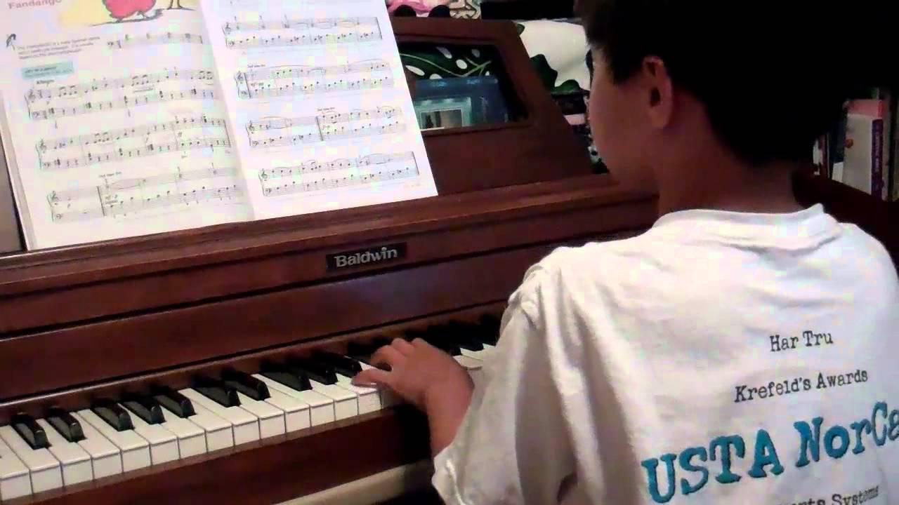Fandango (Alfred's Piano Book 3)