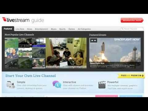 The 5: Live Video Streaming Sites