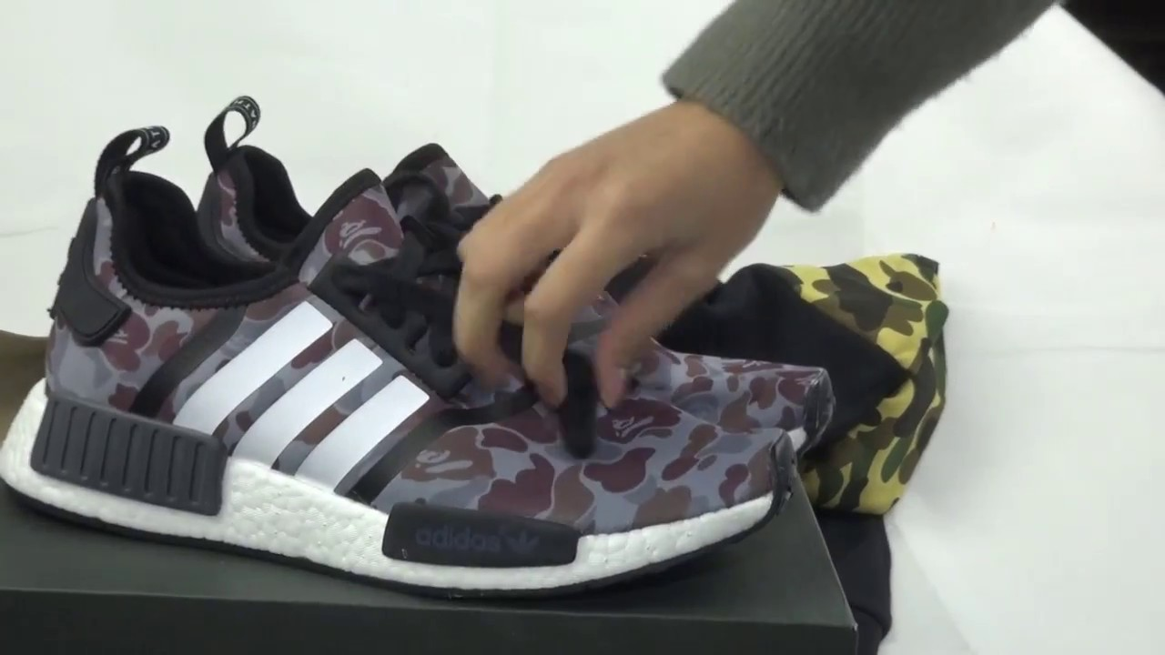 Authentic Adidas NMD R1 Primeknit X Gucci Bee Black