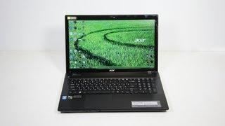 видео Ноутбук Acer Aspire V3: описание, технические характеристики, отзывы