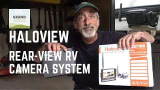 Ep. 152: Haloview Rear View RV Camera System | Installation, Test & Review | Side View
