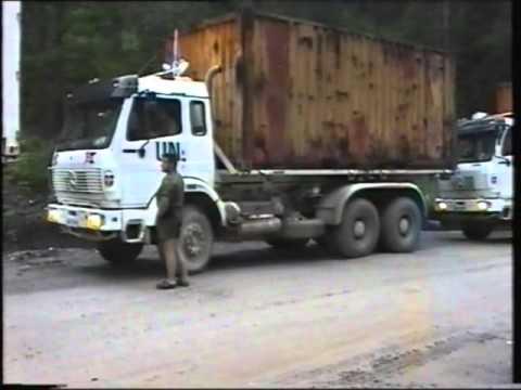 Normedcoy convoy Milankovici and Ribnica