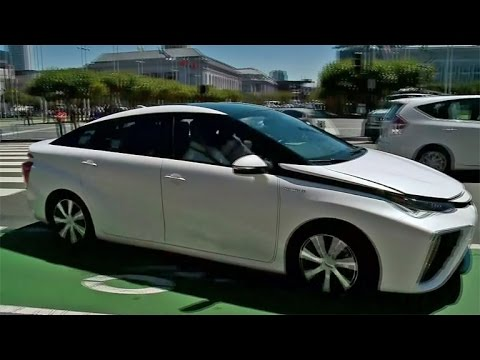 Hydrogen-Powered Car Debuts At SF City Hall