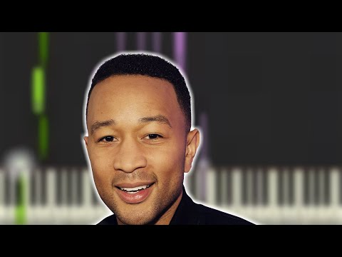 ♬ Learn How to Play ORDINARY PEOPLE by JOHN LEGEND FUN KEYBOARD Synthesia FREE MIDI DOWNLOAD ♬