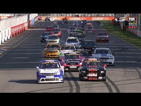 Aussie Racing Cars Adelaide Race Youtube