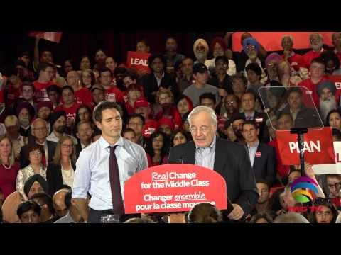 Justin Trudeau Speech in Liberal Rally Brampton @TAG TV