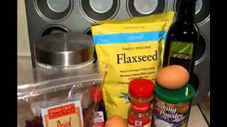 Cranberry Flax Seed Muffin Recipe