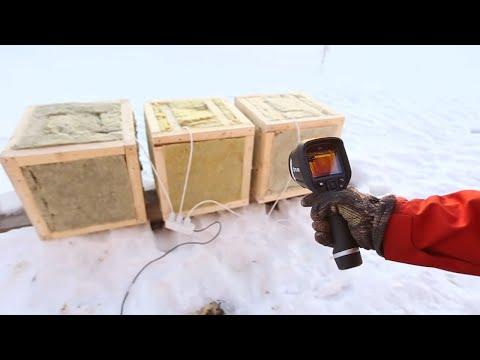 Какой утеплитель лучше держит тепло?  Тест Кнауф, Технониколь, Басвул, Роквул, Изовер