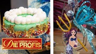 Meerjungfrau-Kuchen und Mirror Glaze Cake | 2/3 | Das große Backen - Die Profis  | SAT.1