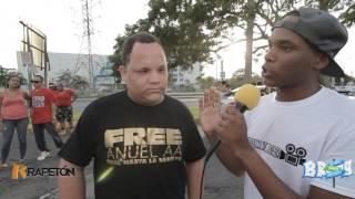Manifestación #FREEANUEL frente a la cárcel federal