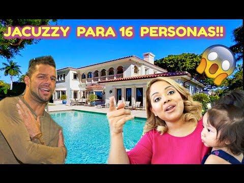 CONOCIMOS LA CASA DE RICKY MARTIN!! + PASEO EN BOTE POR MIAMI FLORIDA! VLOG #124