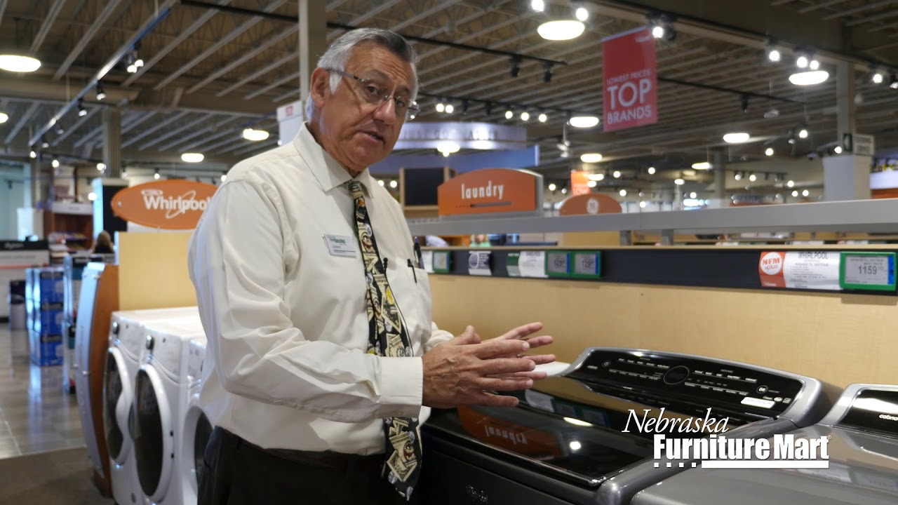 Learn About the Whirlpool WTW8500DC Washer at Nebraska Furniture Mart