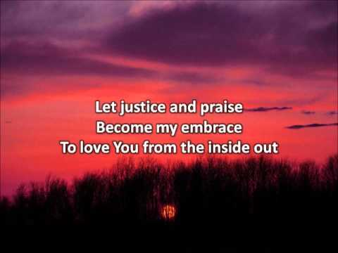 From The Inside Out - Hillsong United (with lyrics)