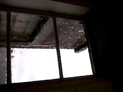 Flooded window