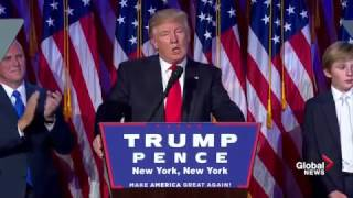 President-elect Donald Trump full victory speech