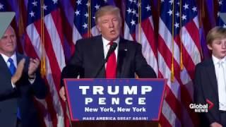 President-elect Donald Trump full victory speech thumbnail