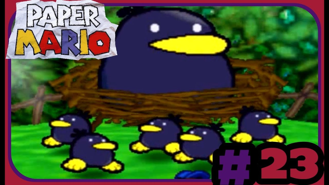 Paper Mario (Part 23) Hot Foot Into the Volcano