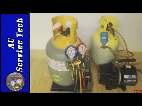 Refrigerant Recovery Tank! Commissioning, Max Cylinder Weight, Selling Refrigerant, EPA 608 Rules!