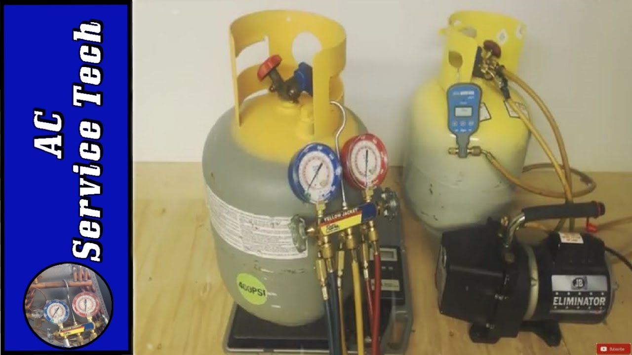 Refrigerant Recovery Tank Commissioning Max Cylinder