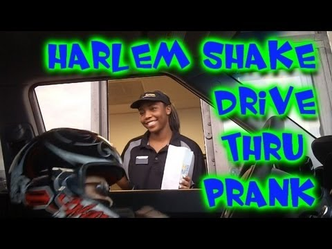 Harlem Shake (Kids Drive Thru Prank Edition) | OmarGoshTV