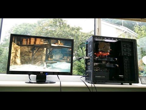 9800GTX+ SLI PC Build 2015