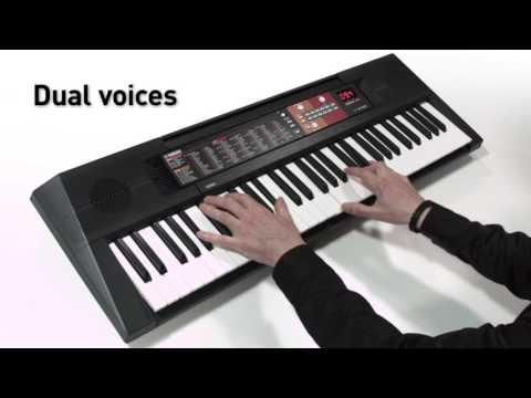 Yamaha Psr F51 Overview Youtube