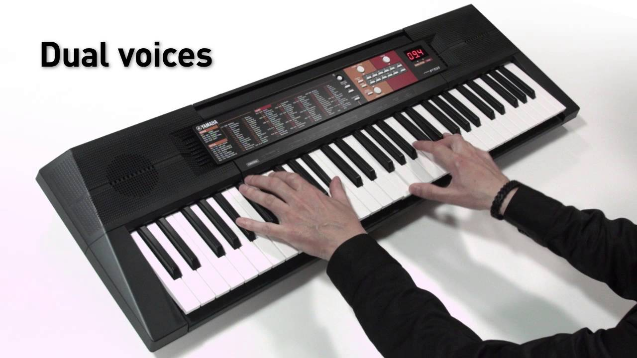 yamaha psr f51 overview youtube. Black Bedroom Furniture Sets. Home Design Ideas