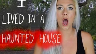 I LIVED IN A HAUNTED HOUSE STORY TIME | COLLAB WITH CHANNON ROSE