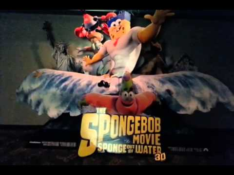 The SpongeBob Movie: Sponge Out of Water 3D 2015 Standee