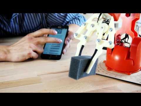 Tinkerkit Braccio Robot - Build and Program Your Own Robotic Arm