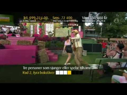 Rednex - Cotton Eye Joe (Live Sommarkrysset 2008)