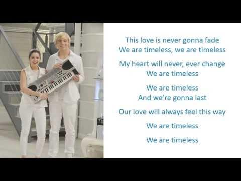 Ross Lynch (Austin & Ally) - Timeless Karaoke / Instrumental Cover
