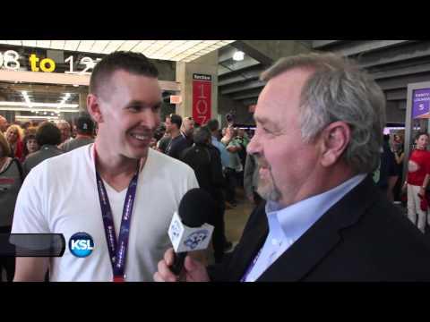 SportsBeat meets Utahn Grant Carlson at Super Bowl 49