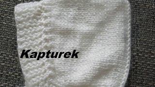 Kaptur*nabieranie oczek na dwie żyłki reglan *Robótki  na drutach *Dzierganie *Tutorial