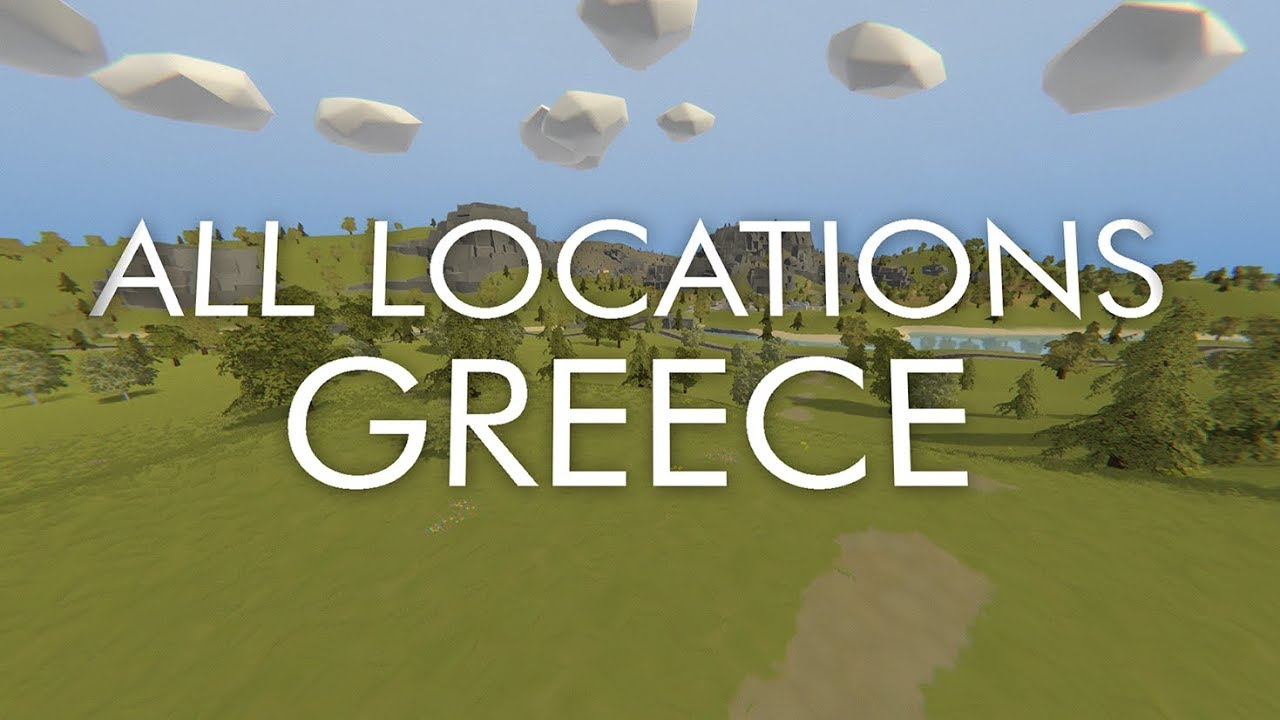 Unturned Greece Map   All Locations   YouTube
