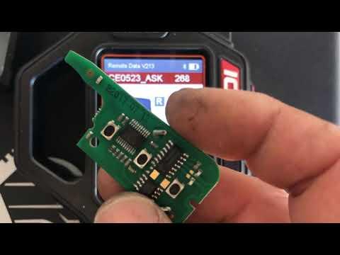 Xhorse VVDI  key tool Wireless Remote Key program citroen c4 picasso