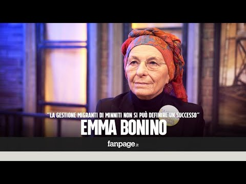 """Emma Bonino (+Europa): """"Gestione dei flussi migratori di Minniti? Difficile definirla un successo"""""""