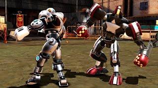 REAL STEEL WRB Psytron VS Blockbuster & Hollowjack & Bio War & Tackle