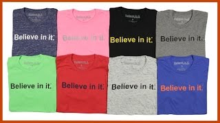 Announcing Believe in it® Apparel in Retail Stores