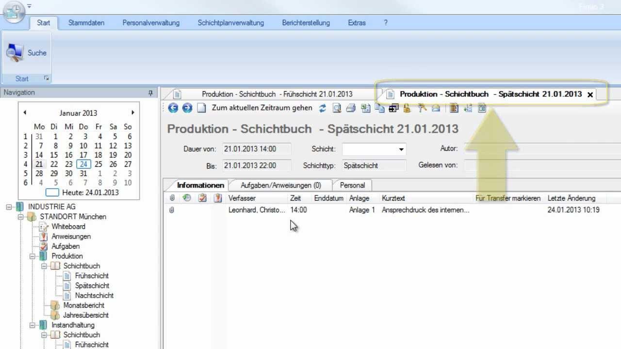 Finito Digital Shift Book - Informationen und Ereignisse ... Dital